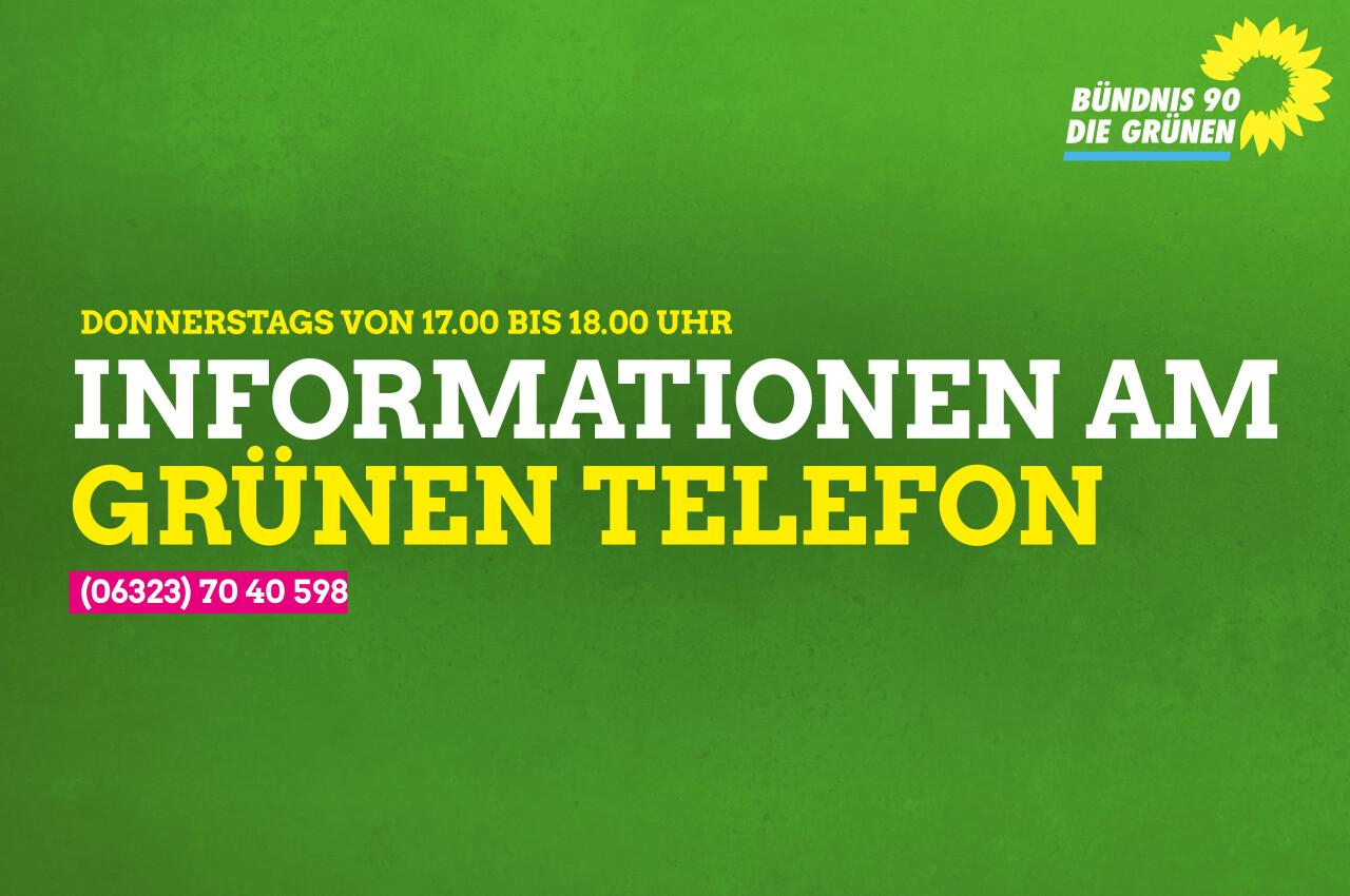 GRÜNES TELEFON in EDENKOBEN